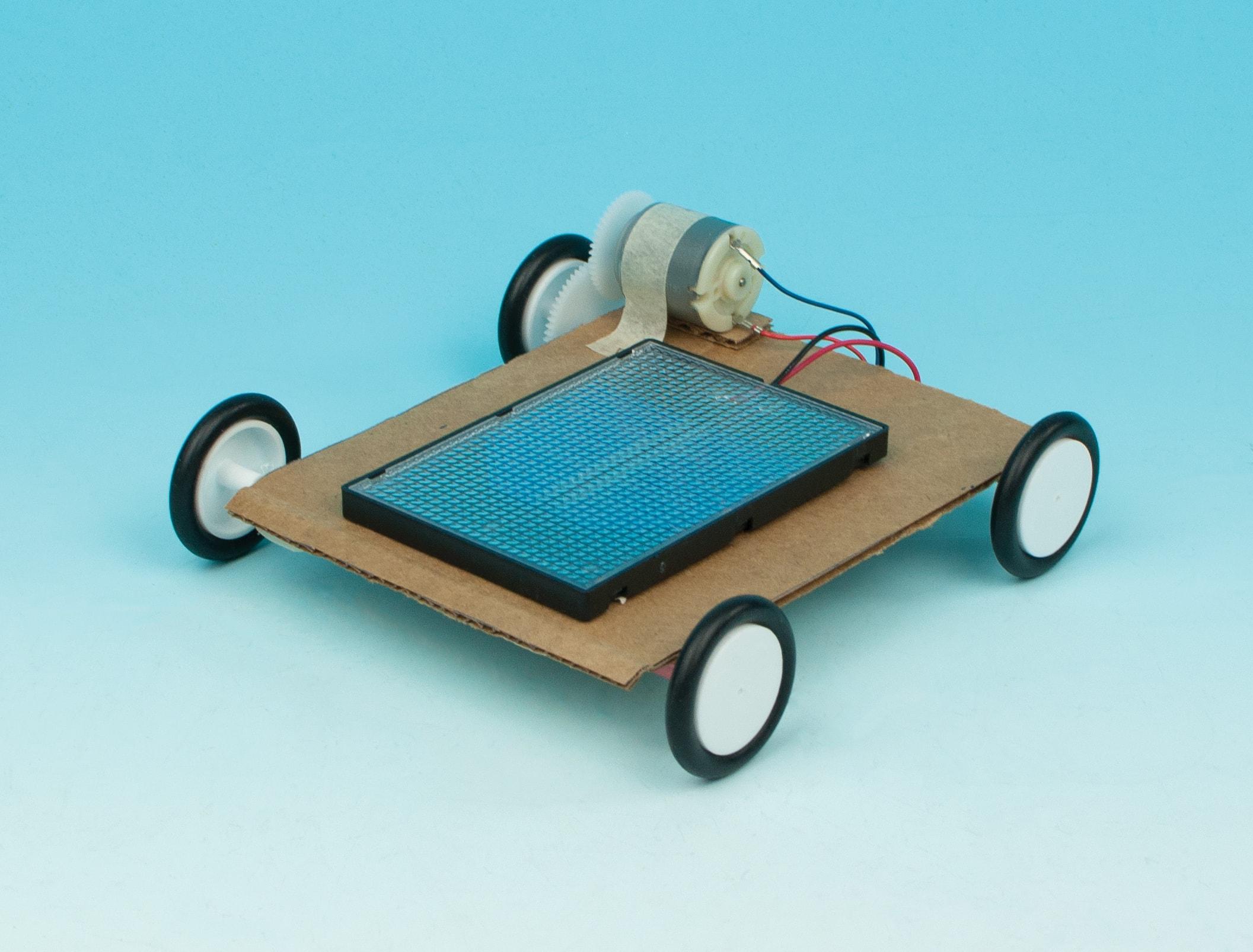 Solar Powered Cars Flinn Stem Design Challenge