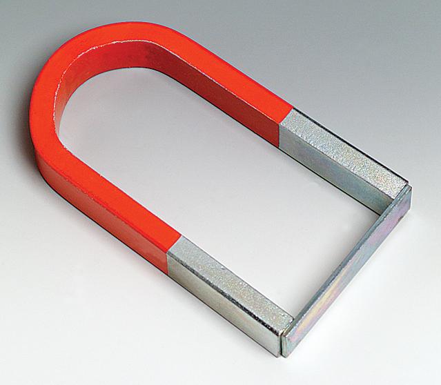 U shaped magnet permament chrome steel