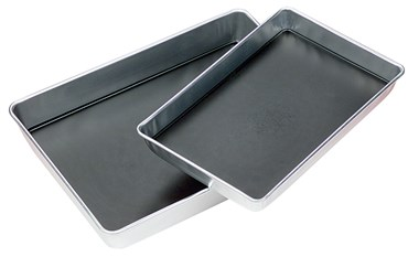 "Aluminum Dissecting Pan with Wax, 11"" x 7"""