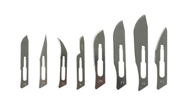 Size 11 Scalpel Blades, Stainless Steel