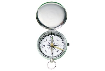 Magnetic Compass with Cover for Field Studies in Earth Science and Environmental Science