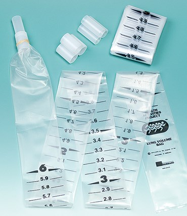 Replacement Mouthpieces for Lung Bag Activity