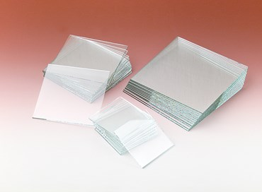 "Clear Glass Plates 2"" x 2"""