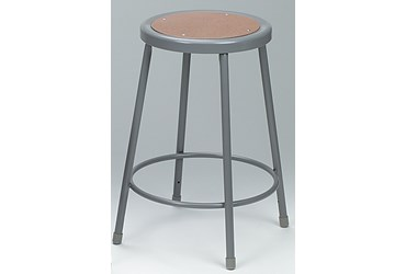Laboratory Steel Stool, 18""