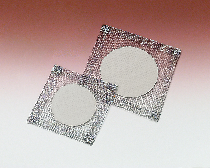 Steel Wire Gauze Squares with Ceramic Center