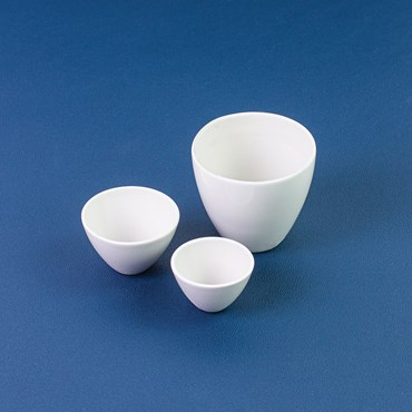 Porcelain Crucible Cover Size B