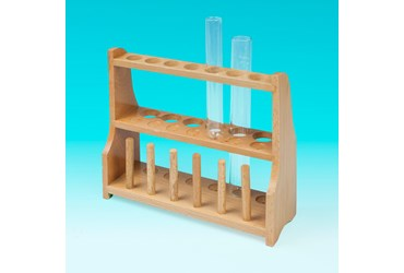 Wooden Test Tube Rack for 13 Tubes