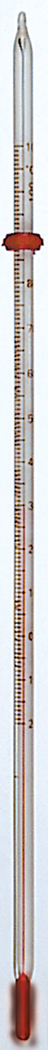 Spirit-filled Thermometer, -20 to 110 ºC, Partial Immersion