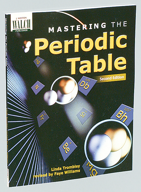 mastering the periodic table chemistry activity book