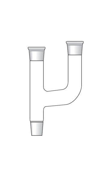 Organic Chemistry Glassware Claisen Connecting Tube