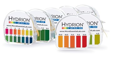 Hydrion Pocket pH Set