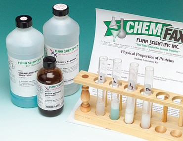 Physical Properties of Proteins Biochemistry Laboratory Kit