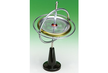 Gyroscope Demonstration for Physical Science and Physics