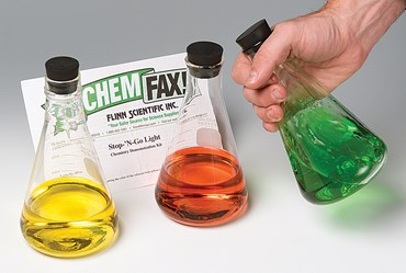 Stop and Go Light Oxidation-Reduction Chemical Demonstration Kit