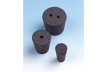 Solid Rubber Stoppers Size 00
