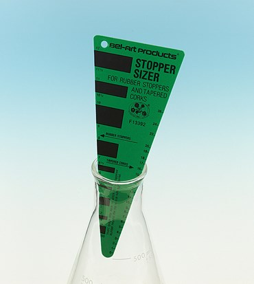 Stopper Sizer for Lab Glassware