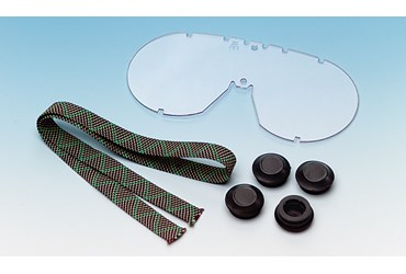 Replacement Lens for Standard Vented Lab Safety PPE Chemical Splash Goggles with Fog-Free Lens