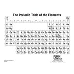 Periodic Table Notebook Size