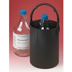 Rubber Bottle Carrier for Safe Chemical Transport