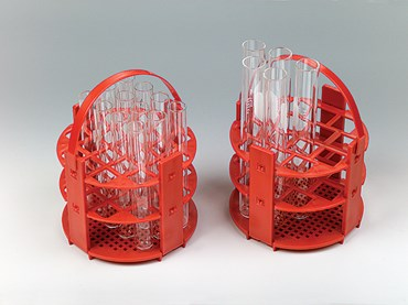 Submersible Round Test Tube Rack for 16 mm Tubes