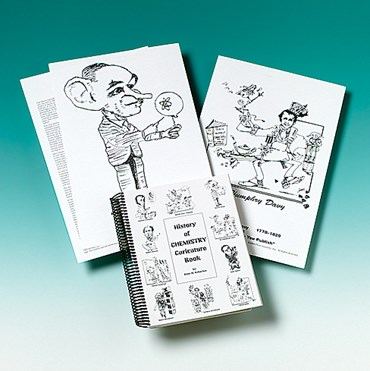 History of Chemistry Caricature Book