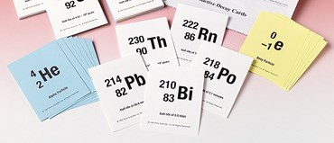 Radioactive Decay Card Game for Chemistry and Physics