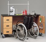 Wheelchair Accessible Lab Station for Science Classroom