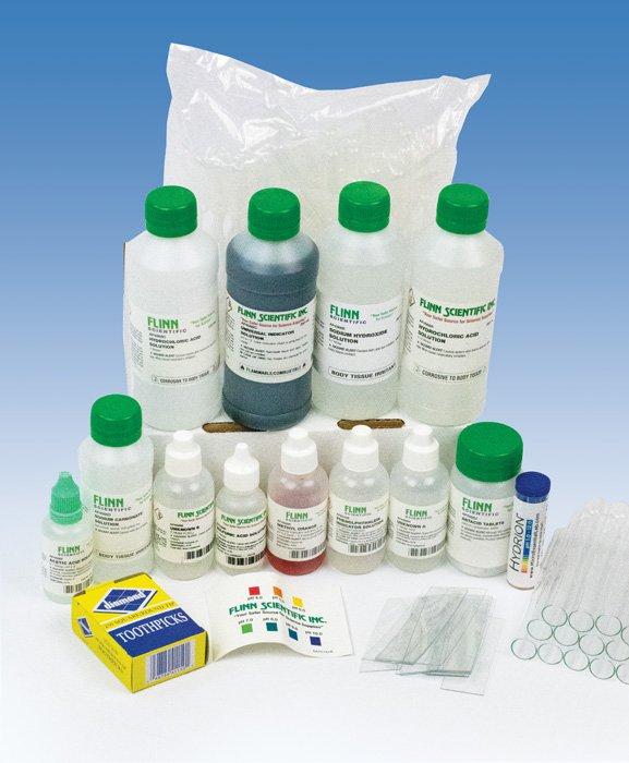neutralizing stomach acid lab