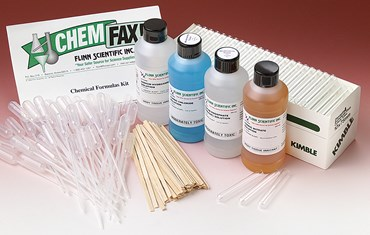 Chemical Formulas Chemistry Laboratory Kit