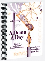 A Demo A Day for Chemistry, Volume II Book of Demonstration Experiments