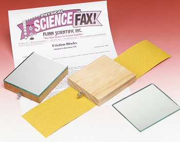 Friction Blocks Physical Science and Physics Laboratory Kit