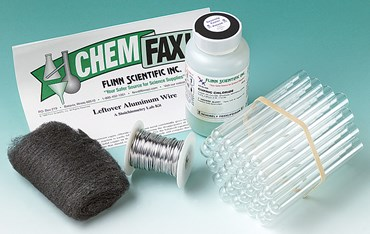 Leftover Aluminum Wire Stoichiometry Laboratory Kit
