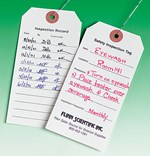 Lab Safety Inspection Tags