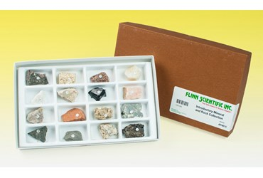 Introductory Mineral and Rock Collection for Geology and Earth Science