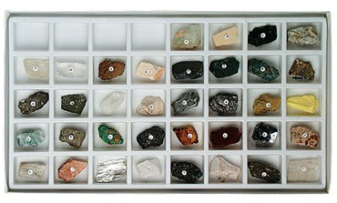 Classroom Mineral Collection for Geology and Earth Science