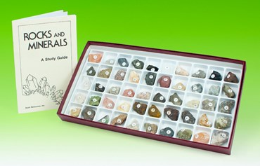 Classroom Collection of Rocks and Minerals for Geology and Earth Science