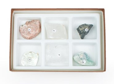 Cleavage Mineral Collection for Geology and Earth Science