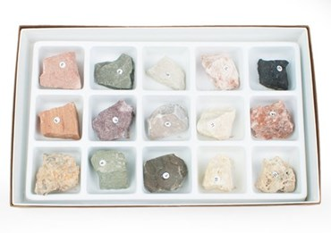 Sedimentary Rock Collection for Geology and Earth Science