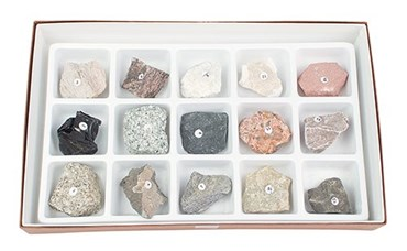 Introductory Rock Collection for Geology and Earth Science