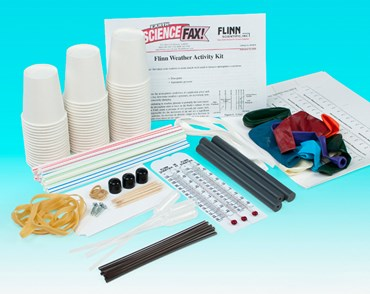 Flinn Weather Activity Kit for Earth Science and Meteorology