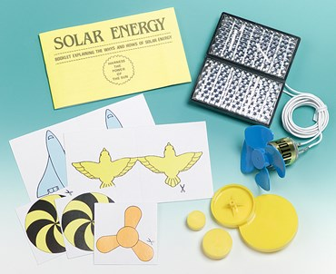 Solar Cell and Motor Demonstration Kit