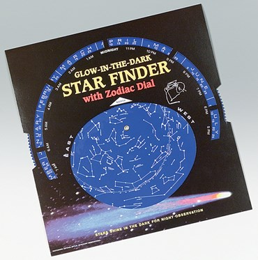 Glow-in-the-Dark Star Finder Dial for Astronomy and Space Science