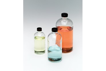 Glass Boston Round Bottle 240 mL