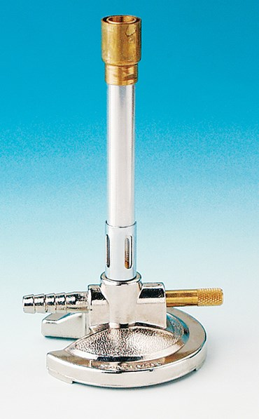 Adjustable Bunsen Burner for use with Natural Gas