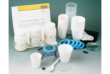 Analysis of Simple Mixtures Chemistry Laboratory Kit
