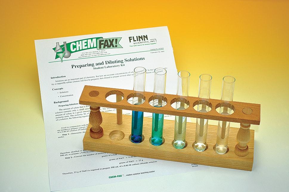 flinn scientific preparing and diluting answers
