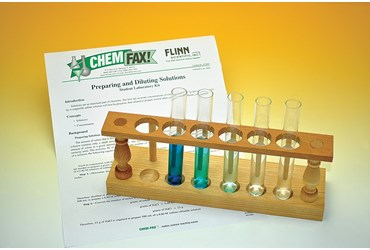 Preparing and Diluting Solutions Chemistry Laboratory Kit