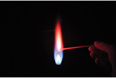 flame test lab Lab: flame test purpose: to determine the id of 2 unknown substances background information: every atom consists of a nucleus with tiny electrons whizzing around it.