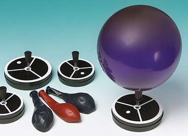 Balloon Levitating Puck Set for Physical Science and Physics