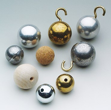 "Solid Steel Ball (1"") for Physical Science and Physics"